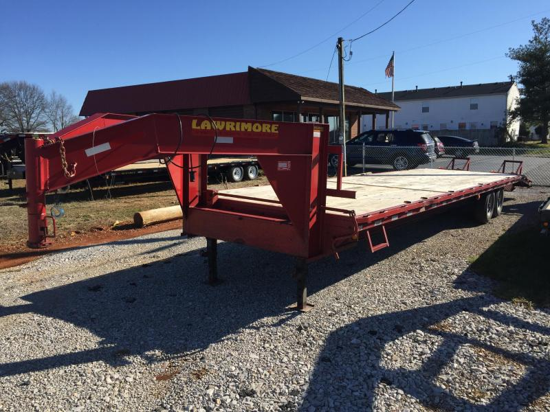 2013 Lawrimore 35' Gooseneck Equipment Trailer