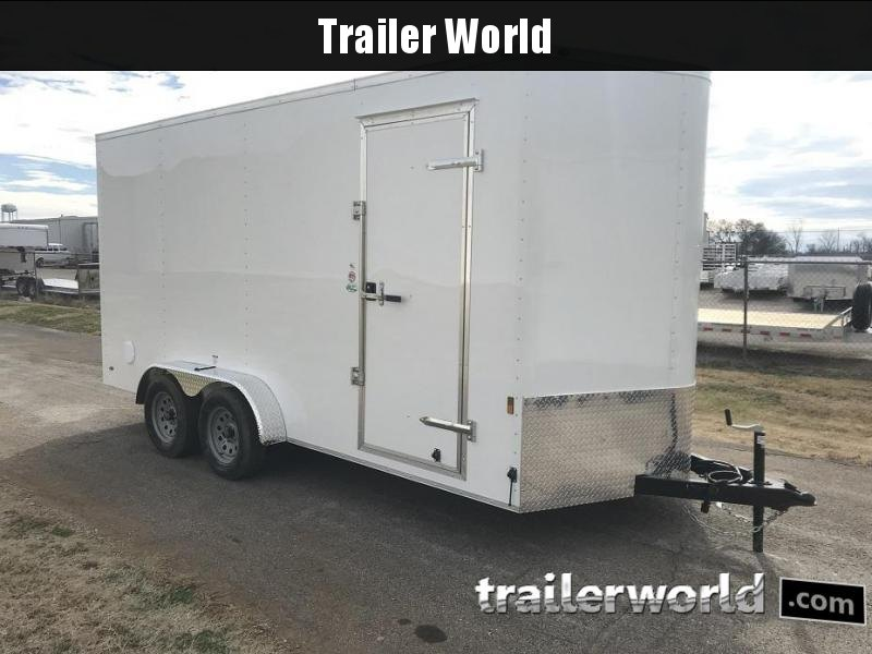 2019 Continental Cargo 7' x 16' x 7' Vnose Enclosed Cargo Trailer