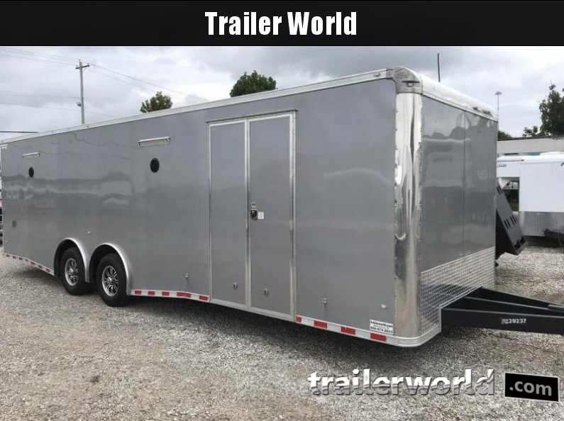 2017 CW 28' Spread Axle Racing Trailer 14k GVWR