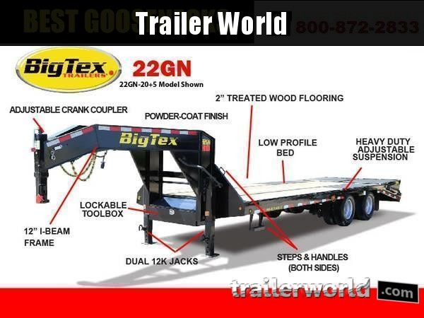 2019 Big Tex Trailers 22GN-20
