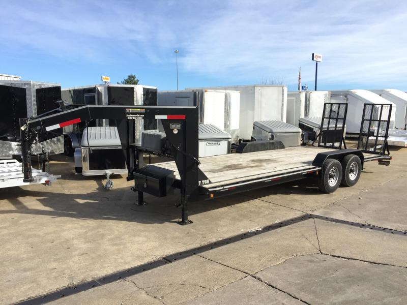 2014 Better Built 22' Low Profile Gooseneck Equipment Trailer