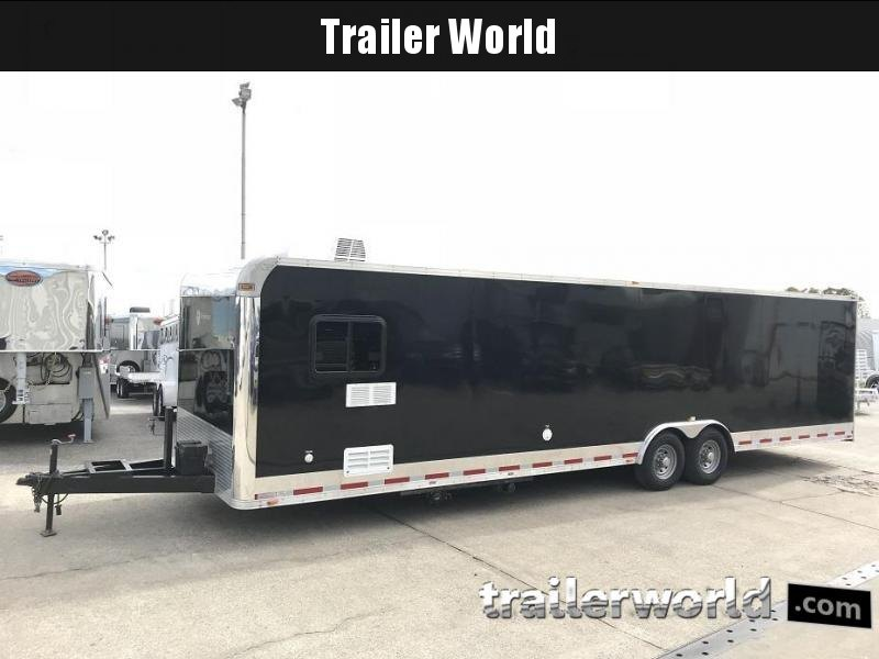 2012 Vintage 32' Toy Hauler Enclosed Car Race Trailer