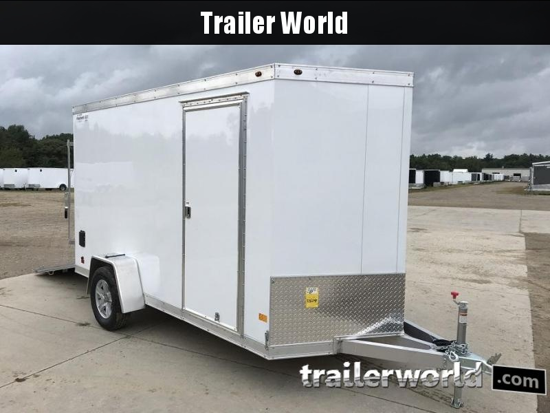 2019 Haulmark 6' x 12' Aluminum Enclosed Cargo Trailer - CLEARANCE