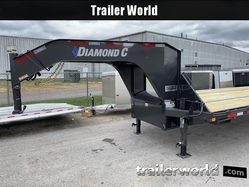 2019 Diamond C FMAX212 35' + 5' Gooseneck Trailer 25900GVWR