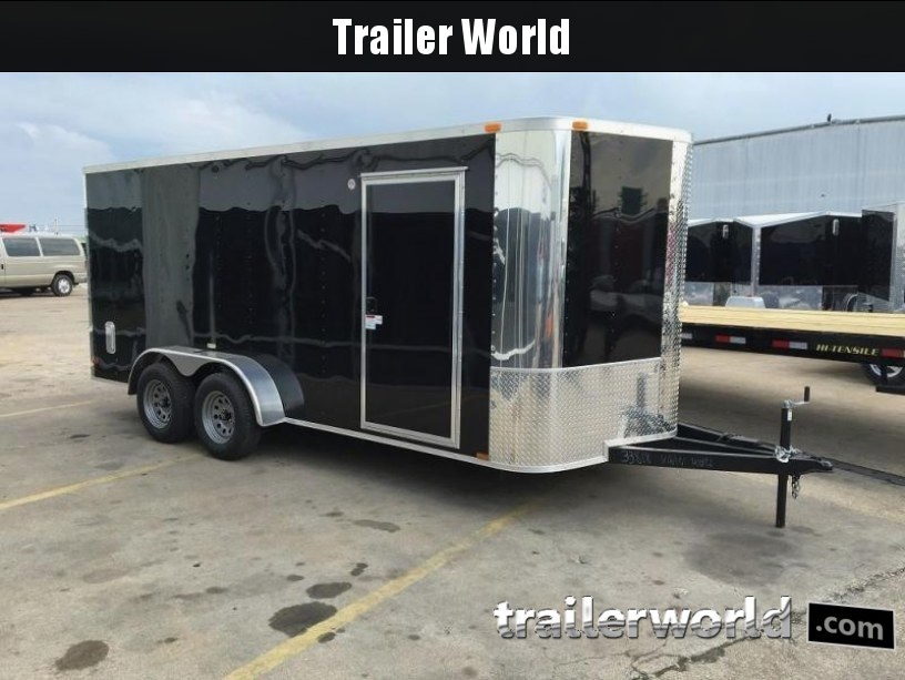 "2016 ARI 7' x 16' x 6'3"" Vnose Enclosed Cargo Trailer"