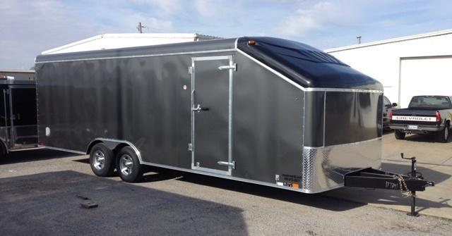 2014 United 24' Slope Nose Show Car Pkg Car Trailer 10k GVWR