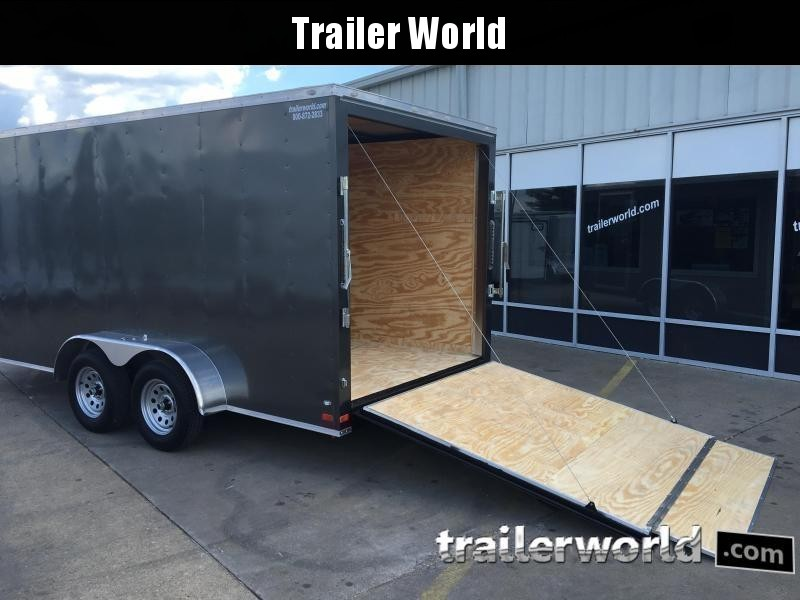 2019 CW 7' x 16' x 6.3' Vnose Enclosed Cargo Trailer