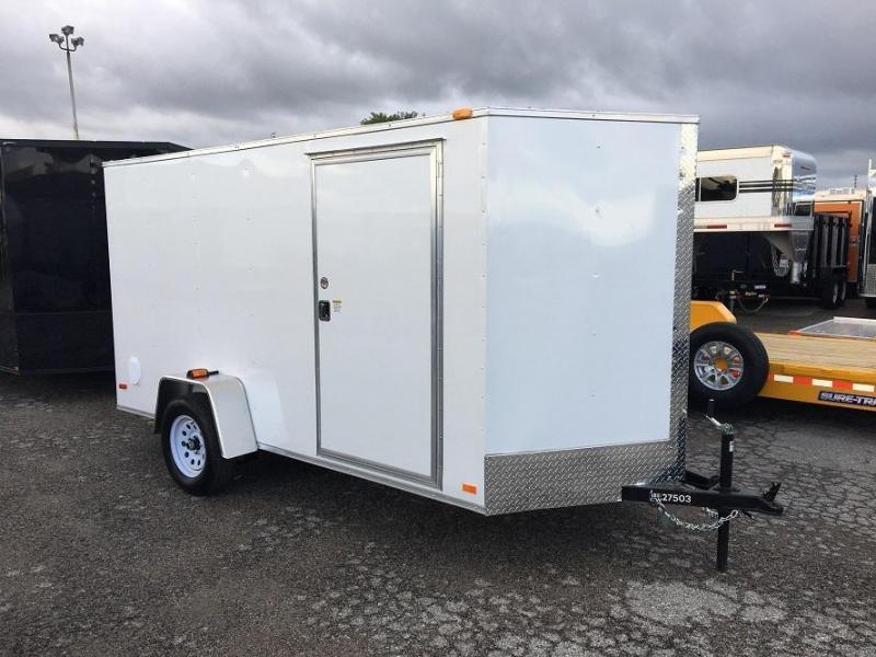 2017 CW  SS 6' x 12' x 6' Enclosed Cargo Trailer Ramp Door