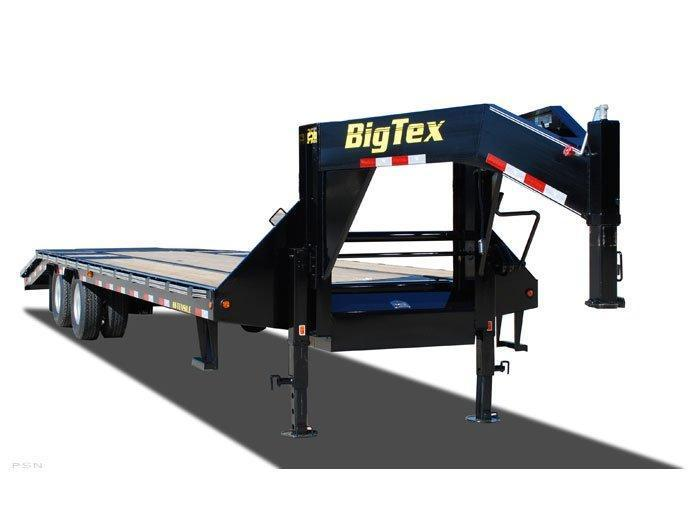2014 Big Tex Trailers 25GN 25' + 5' CP Equipment Trailers