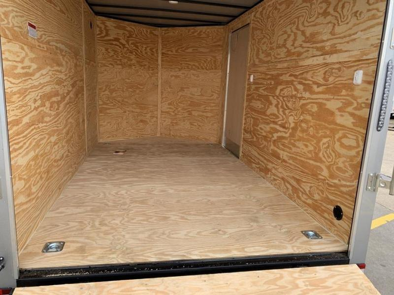 2019 Lark 7' x 12' x 6.5'  Vnose Enclosed Cargo Trailer