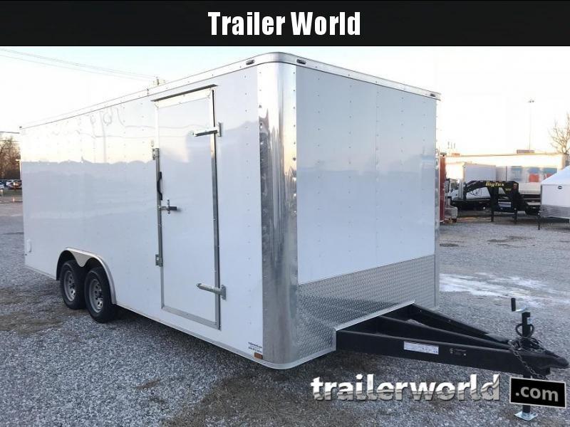 2018 Lark 8.5' x 20' x 7' Enclosed Car Trailer
