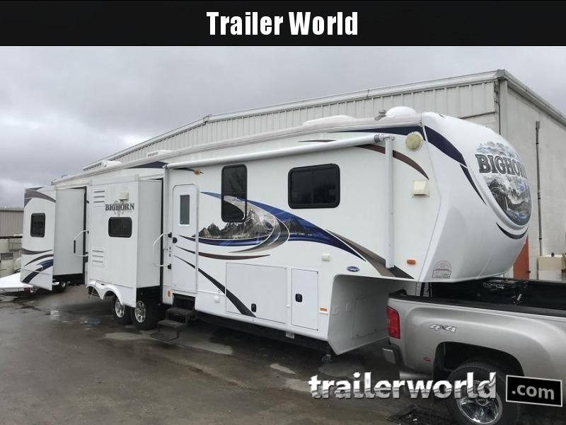 2011 Heartland Big Horn 3800DB Fifthwheel Travel Trailer 5 SLIDES!!!