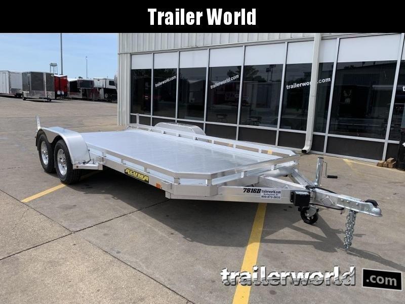 2020 Aluma 7816B  16' Aluminum Open Car Hauler