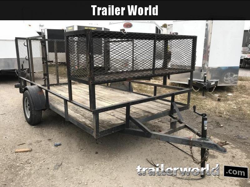 2000 6.5' x 12' Utility Trailer w/ Racks