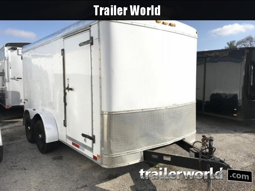 2008 Homesteader 7' x 14' x 6.5' Enclosed Cargo Trailer 10k GVWR
