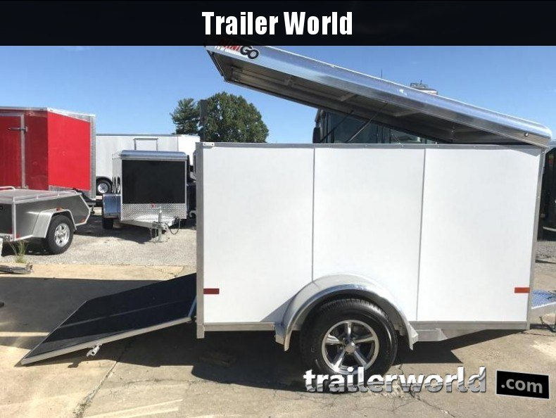 2018 Sundowner 5' x 8' MINI GO Enclosed Aluminum Cargo Trailer