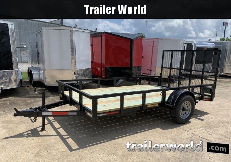 2019 Lawrimore 77 x 12' Utility Trailer