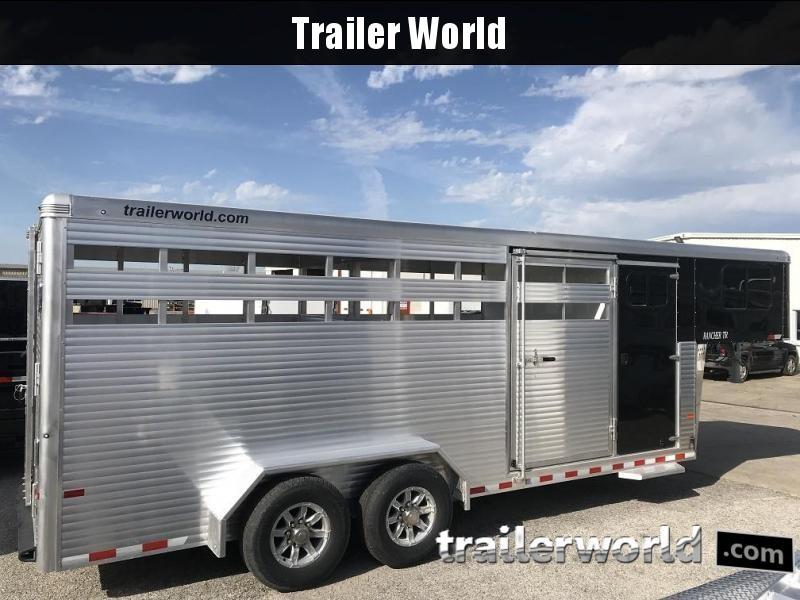 2019 Sundowner 20' Rancher TR Livestock Trailer