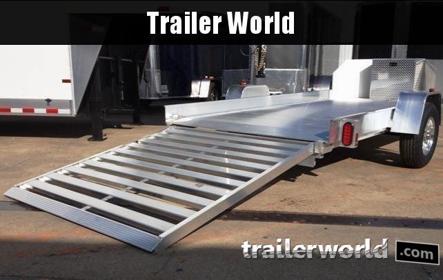 2018 Aluma UT10 Aluminum Utility Trailer 6
