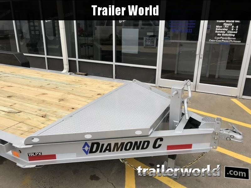 2019 Diamond C LPX 22' Low Profile Equipment Trailer 10 Ton