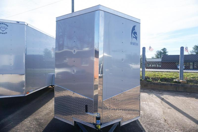 2019 Spartan SP 5 X 8SA Enclosed Cargo Trailer w/Ramp Door