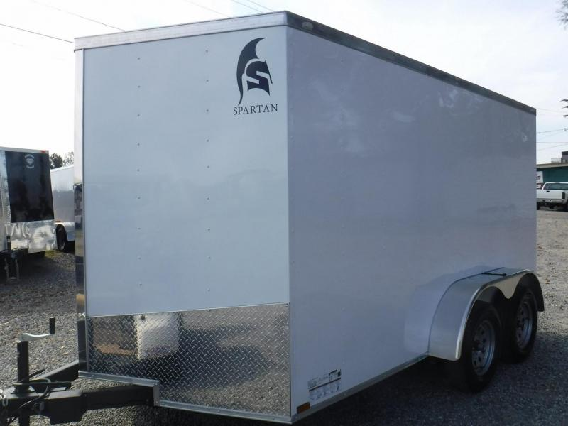2020 Spartan SP7X12TA2 Enclosed Cargo Trailer
