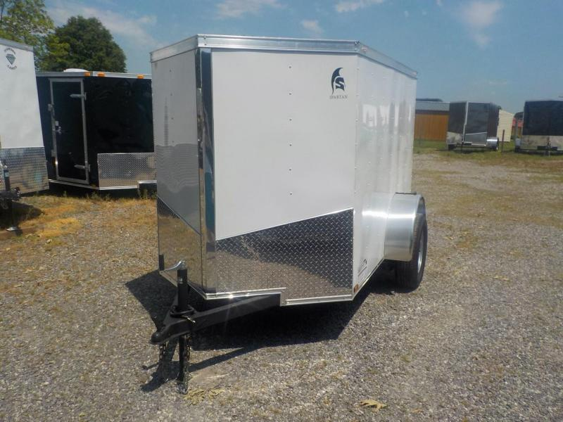 2019 Spartan SP 5 X 8 SA Enclosed Cargo Trailer