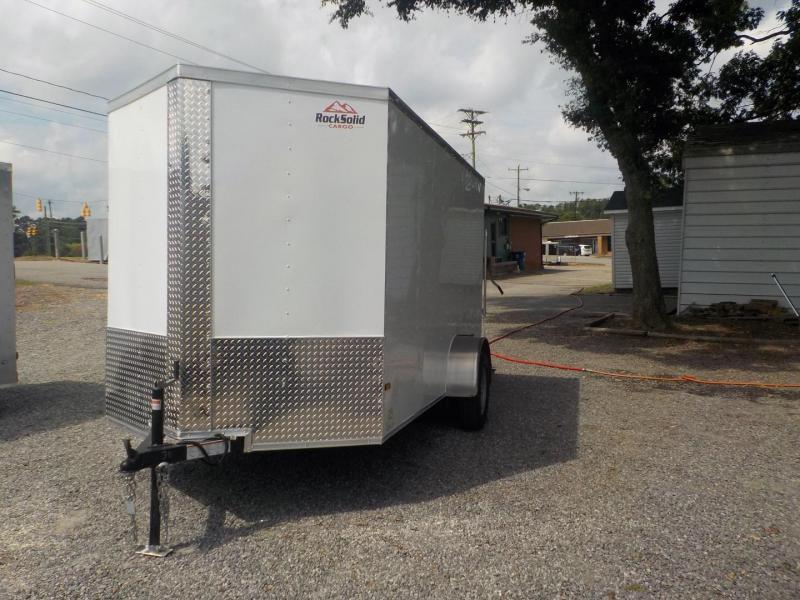 2019 Rock Solid Cargo RS6X12SA Enclosed Cargo Trailer w/Ramp Door