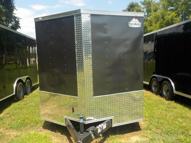 2019 Rock Solid Cargo RS 7 x 14 TA 7K Enclosed Cargo Trailer