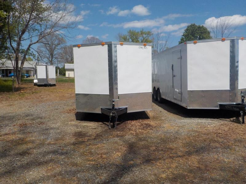 2020 Cynergy Cargo CCL 8.5 X 20 TA2 Enclosed Cargo Trailer
