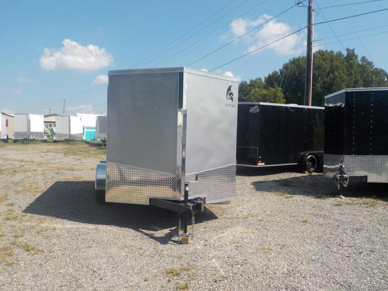 2019 Spartan SP7X16TA Enclosed Cargo Trailer w/Ramp Door