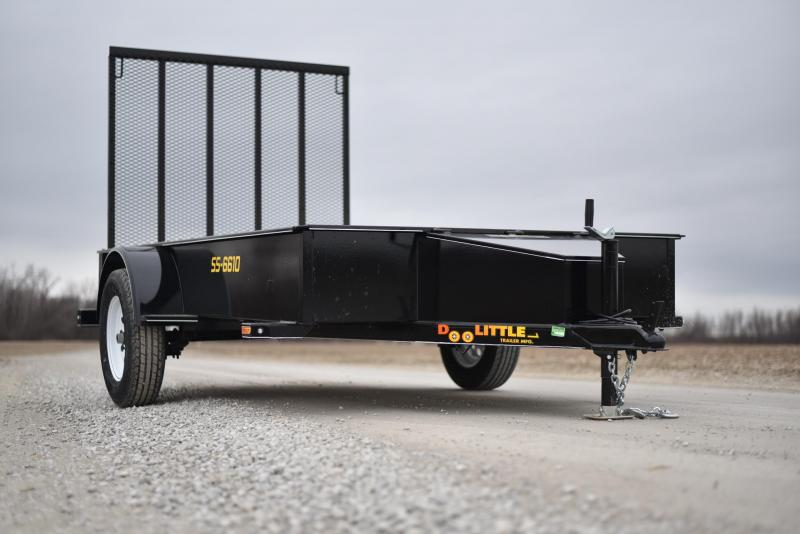 2019 Doolittle Trailer Mfg 66x10 SS Utility Trailer