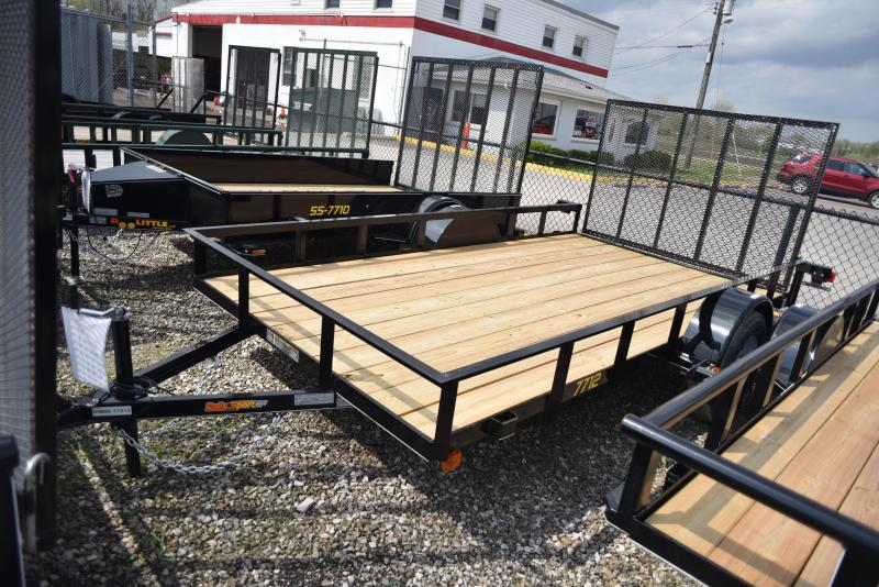 2019 Doolittle Trailer Mfg 60x10 Rally Sport Utility Trailer