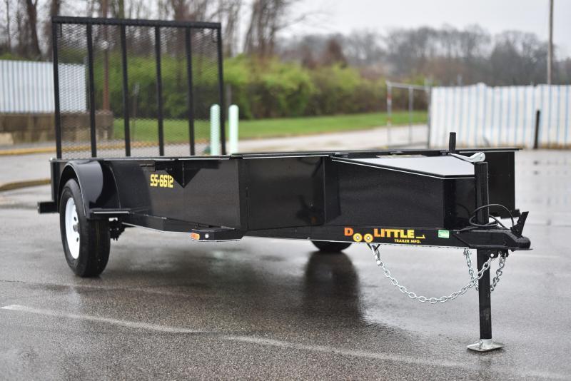 2019 Doolittle Trailer Mfg 66x12 SS series Utility Trailer