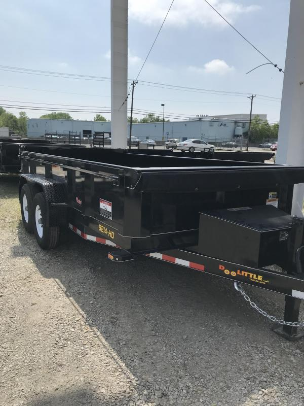 2019 Doolittle Trailer Mfg 82x14 MasterDump Dump Trailer