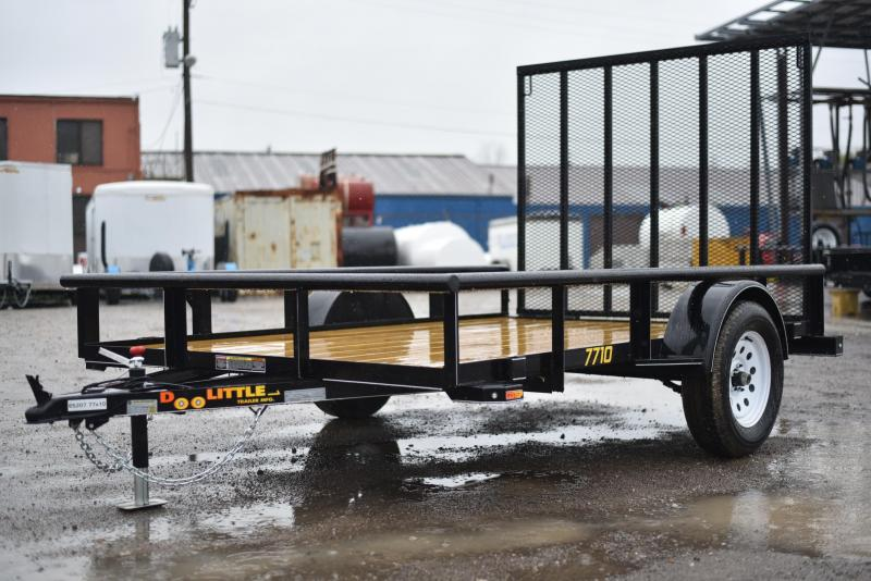 2018 Doolittle Trailer Mfg 770 Series Utility Trailer