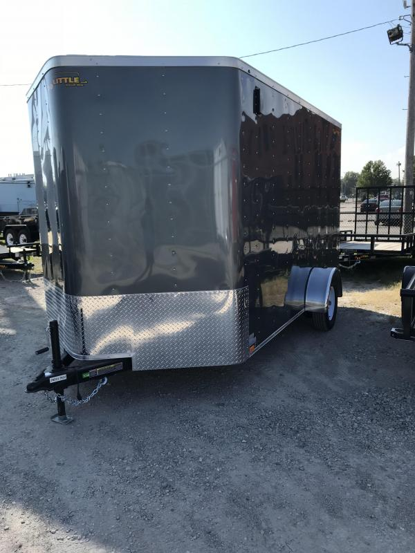 2019 Doolittle Trailer Mfg 7x12 Bullitt Enclosed Cargo Trailer