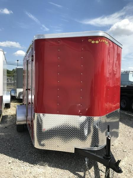2018 Doolittle Trailers 6x10 Bullitt Single Axle 2990 lbs. GVWR