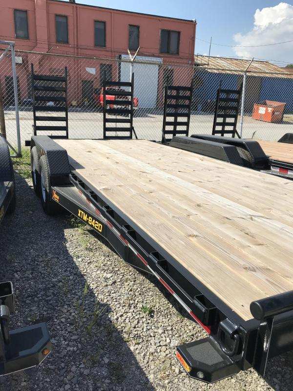 2019 Doolittle Trailer Mfg 82x20 Xtreme Equipment Trailer