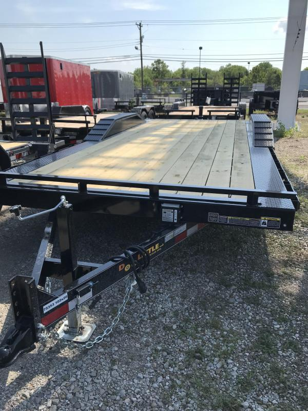 2019 Doolittle Trailers 102x20 CF 14K