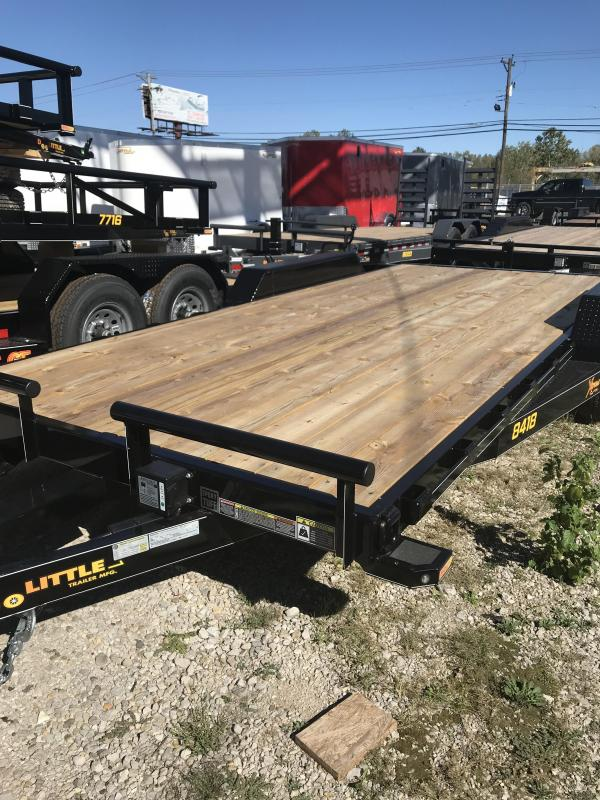 2019 Doolittle Trailer Mfg 84x18 Flatbed Trailer
