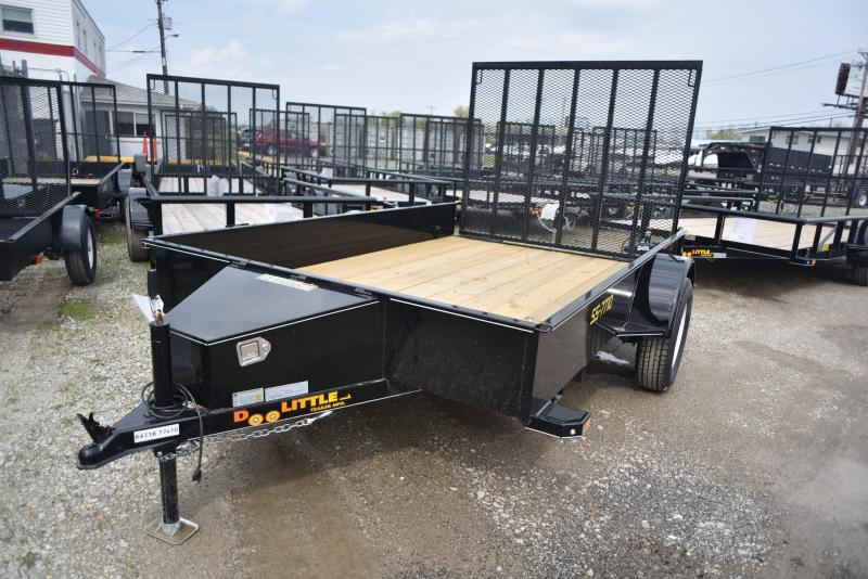 2019 Doolittle Trailer Mfg 77x10 SS Utility Trailer