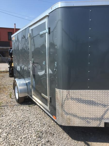 2019 Doolittle Trailers 6x12 Bullitt Single Axle 2990 lbs. GVWR