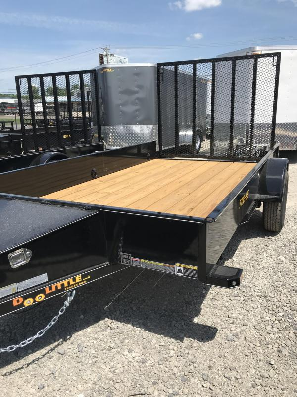 2019 Doolittle Trailer Mfg 77x14 SS series Utility Trailer