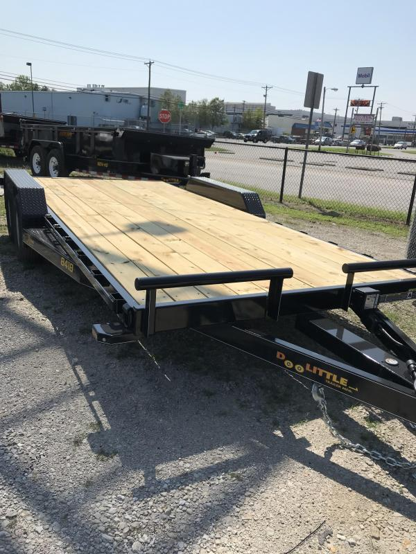 2019 Doolittle Trailer Mfg 84x18 Xtreme Equipment Trailer