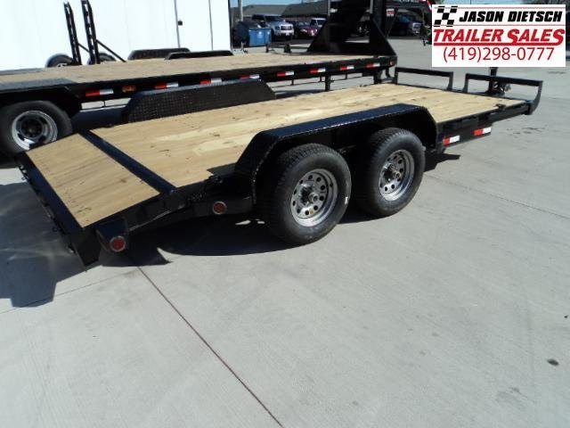 2018 IRON BULL 83x16 Tandem Axle Equipment Hauler Trailer....Stock#IB-5591