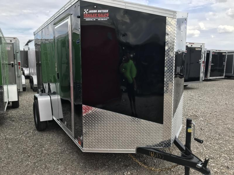2020 United XLV 6X12 V-Nose Slant Enclosed Cargo Tr....Stock# UN-166137