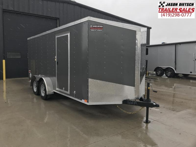 2020 United Trailers XLV 7x16 V-Nose Enclosed Cargo Trailer....Stock# UN-166169