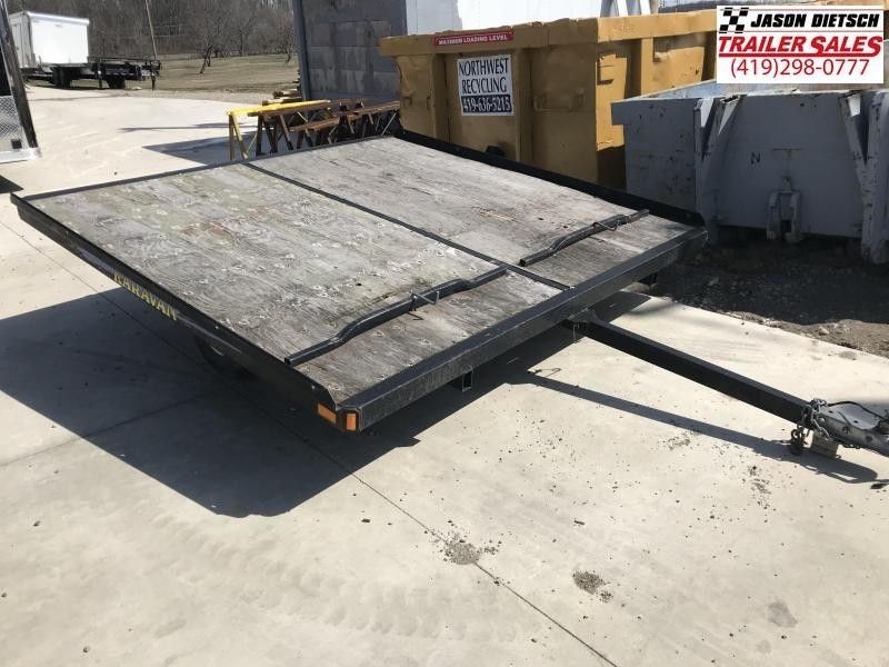 2003 Karavan Trailers KS-100-8(18.5X8B) Snowmobile Trailer