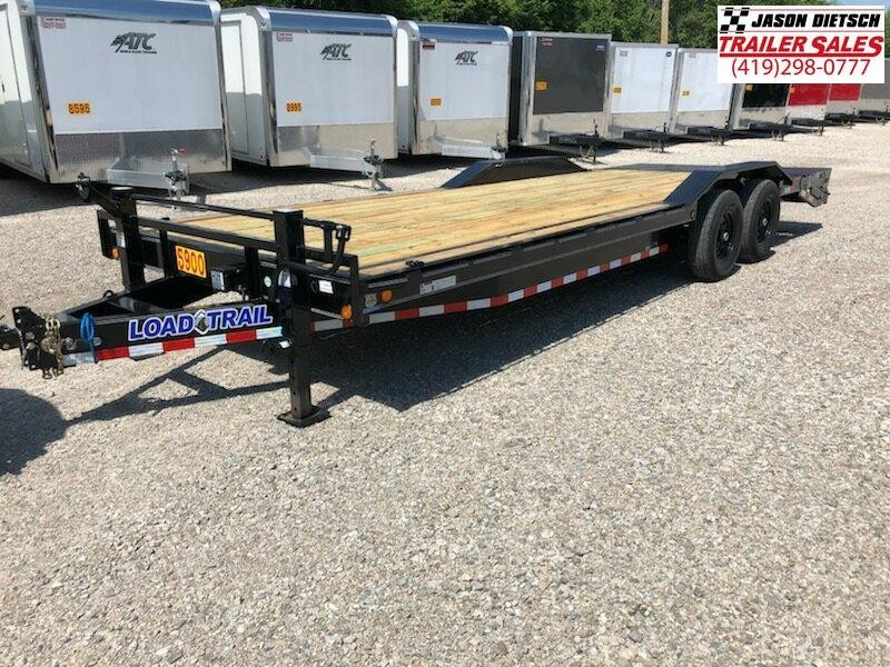 2018 Load Trail 102X24 Tandem Axle Carhauler....STOCK# LT-1168824